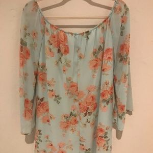 Charlotte Russe Dresses -   Floral Charlotte Russe Dress  
